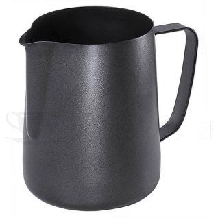 Contacto Espresso Milchkanne Antihaft Schwarz 0,60-A209-Bild1