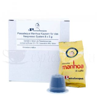 Passalacqua Manhoa Nespresso-Probe Box-C382-Bild1