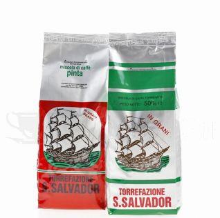 San Salvador Probepaket  Forte  Espressobonen 1kg-C931-Bild1