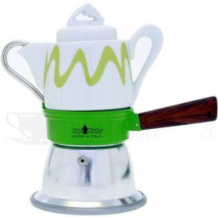 top moka kanne espresso gruen