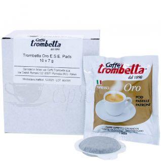 Trombetta Oro Pads ESE. Probe Box 10 St. | 70 g