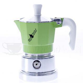 TOP MOKA Espressokocher grün 1 Tasse