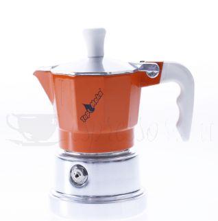 TOP MOKA Espressokocher orange 1 Tasse