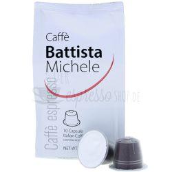 michele battista caffe kompatibele nespresso kapseln