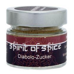 Diabolo Rohrzucker mit Zimt und Chili   Glas 70g