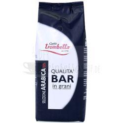 caffe trombetta 100 prozent arabica 1 kg bohnen
